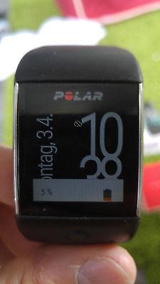 Polar M600 - guter Zustand - ActivityTracker/Smartwatch/Sportuhr - GPS - schwarz