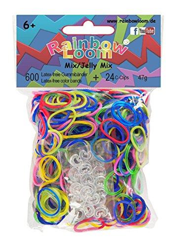 Rainbow Loom® Gummibänder Mix Jelly