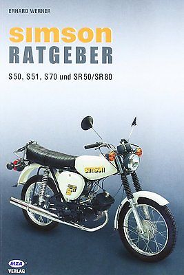 Simson Ratgeber S50 S51 S70 SR50 80 Reparaturbuch Reparaturanleitung Handbuch