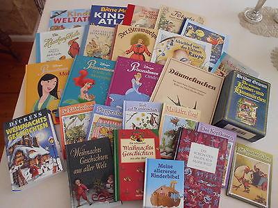31 Kinderbücher Paket Sammlung Disney Grimm Struwwelpeter Ostern Weihnacht Maja