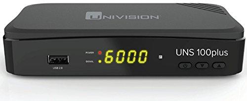 Univision UNS100+ Full HD Satelliten Receiver (HDMI/SCART/USB/EPG )
