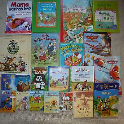 Paket Kinderbücher Mädchen Jungen Bücher 22 Stück Kinder