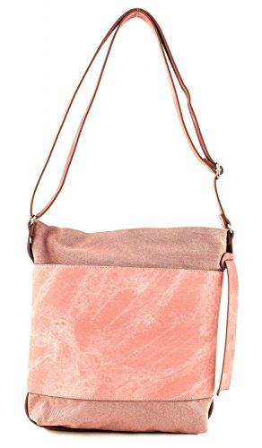ESPRIT Damen 047ea1o001 Umhängetasche, Pink (Old Pink), 8x31x25 cm