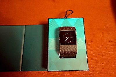Fitbit Surge Fitnesswatch - Größe: Large, Schwarz, Topzustand, kaum gebraucht.