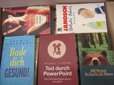 112 Bücher Taschenbücher Goldmann Verlag