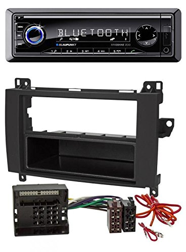 Blaupunkt Brisbane 230 MP3 USB SD Bluetooth AUX Autoradio für Mercedes Vito / Viano (W639, 2006-2014)