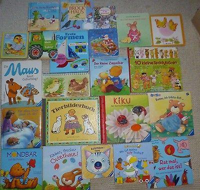 Paket Kinderbücher Kartonseiten Jungen Mädchen Kinder Bilder Bücher  22 Stück