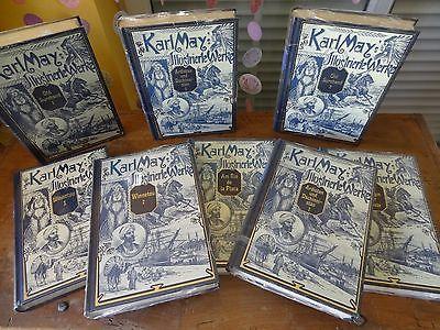 Karl May Bücher: KARL MAY'S ILLUSTRIERTE WERKE - KOMPLETT (eingeschweißt)