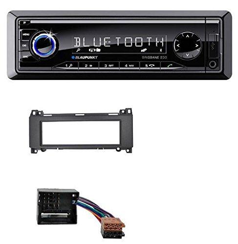 Blaupunkt Brisbane 230 MP3 USB SD Bluetooth AUX Autoradio für Mercedes A-Klasse W169, B-Klasse W245