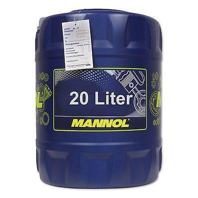 20 (1x20) Liter MANNOL SAE 80W-90 Universal Getriebeöl/ Schaltgetriebe/ API GL4