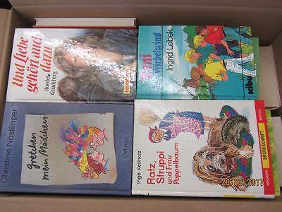 55 Bücher ältere Kinderbücher ältere Jugendbücher ältere Jugendromane Paket 1