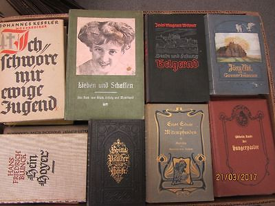 62 Bücher antiquarische Bücher