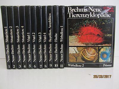 Brehms Neue Tierenzyklopädie in 12 Bänden Tierbildbände Tierlexikon