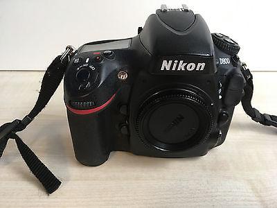 Nikon D800 Body mit Inspektion bei Nikon Service HH