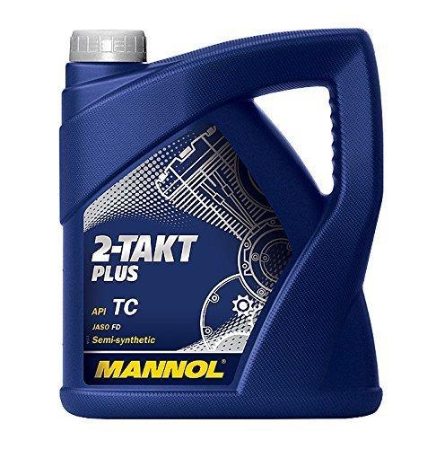 Zweitaktöl SCT-Mannol 2-Takt Plus 4 Liter teilsynthetisch