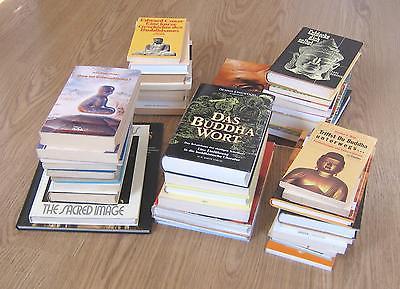 Konvolut Bücher über Spiritualität, überw. Buddhismus 42 Bücher