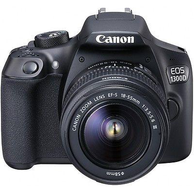 Canon EOS 1300D Kamera + EF-S 18-55mm IS II Objektiv kit - Neu