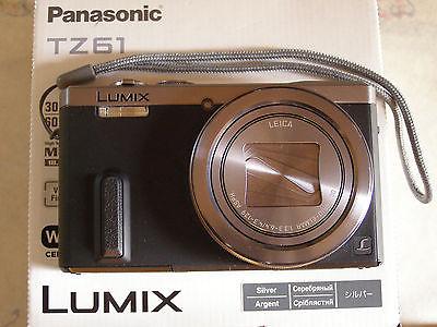 Kamera Panasonic LUMIX DMC-TZ61 18.1 MP Digitalkamera - Silber Fotoapparat