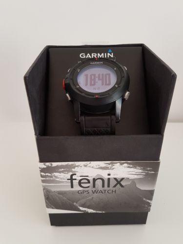 Garmin Fenix Outdoor GPS Uhr schwarz  *sehr guter Zustand *