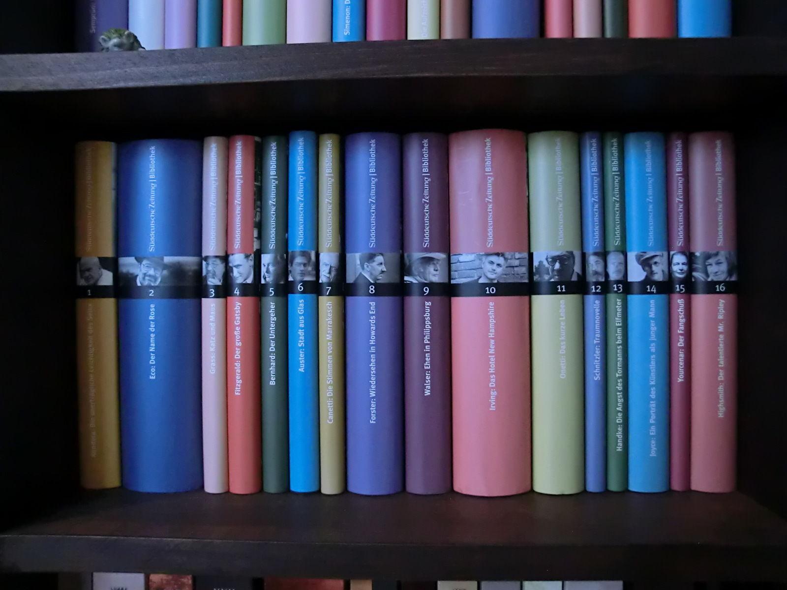 Süddeutsche Zeitung Bibliothek: Romane der Weltliteratur, 51 Bände, Top Zustand