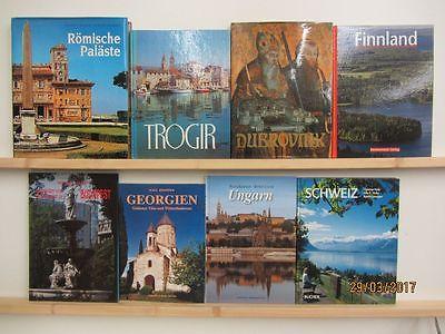 25 Bücher Bildbände Europa europäische Länder europäische Städte