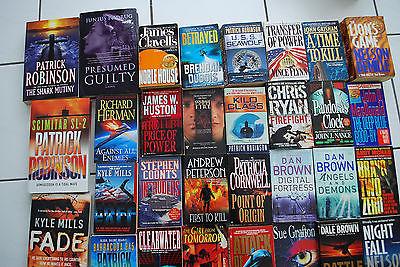 33 x Englische Bücher,Taschenbücher, Gebundene Ausgaben verschiedene Autoren