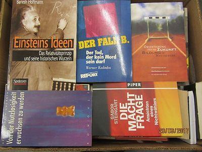 64 Bücher Sachbücher Softcover Wissenschaft Wirtschaft Politik Zeitgeschichte