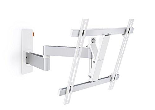Vogel's Wall 2245 TV-Wandhalterung für 81-140 cm (32-55 Zoll) Fernseher, drehbar und neigbar, max. 20 kg, Vesa max. 400 x 400, weiß