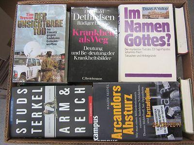 39 Bücher Sachbücher Wissenschaft Wirtschaft Politik Zeitgeschichte