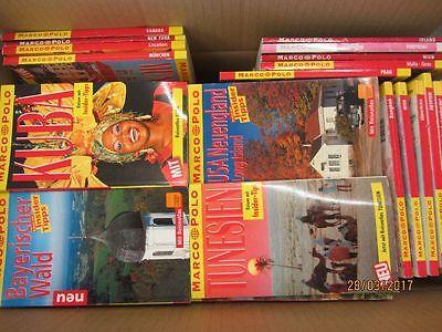 130 Bücher Taschenbücher Marco Polo Reiseführer national und international
