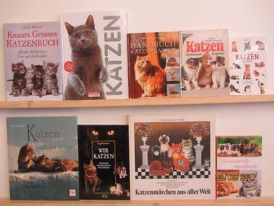 51 Bücher Katze Katzenpflege Katzenrassen Katzengeschichten