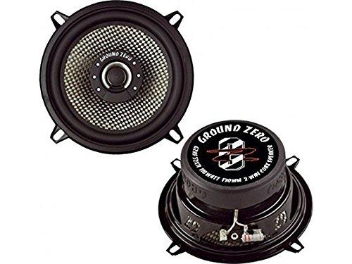 Ground Zero Radioactive GZRF 52XII Auto Lautsprecher Koax-System 220 Watt für VW Golf II , Jetta II alle Einbauort vorne :Türen / hinten : --
