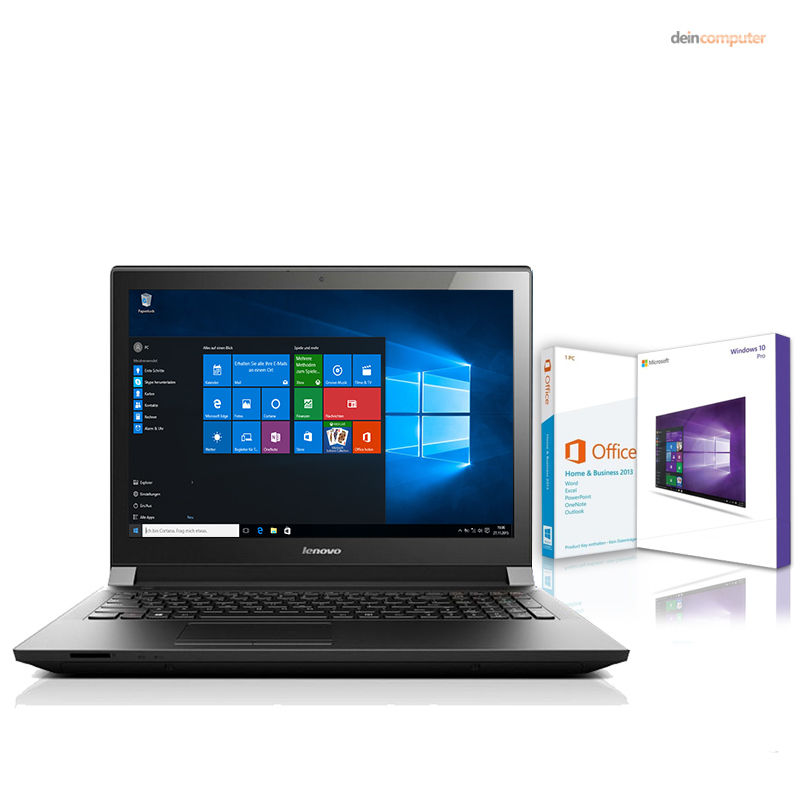Lenovo Notebook - 4 x 2.4 GHz - 8GB - 256 GB SSD - Windows 10 - Office 2013 HuB