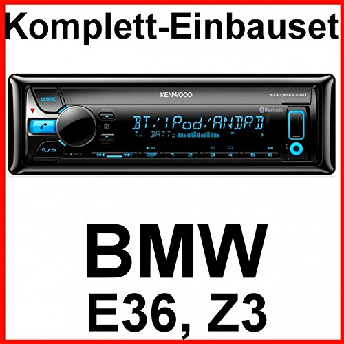 Komplett-Set BMW 3er E36 Z3 mit Kenwood KDC-X5000BT USB Autoradio Bluetooth CD