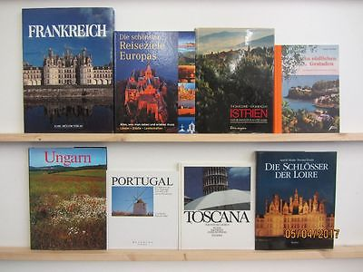 26 Bücher Bildbände Europa europäische Länder europäische Städte