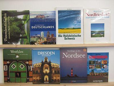 27 Bücher Bildbände Deutschland deutsche Bundesländer deutsche Städte