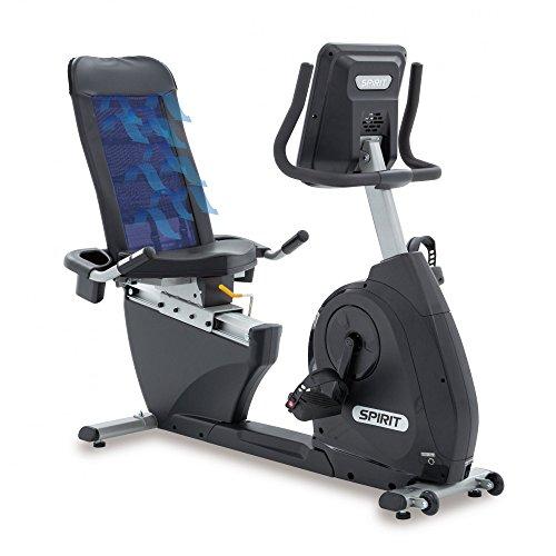 Spirit Fitness Bike XBR 25 - Heimtrainer, Sitz-Ergometer, 6 Programme, 9kg Schwungrad, 7,5`` LCD