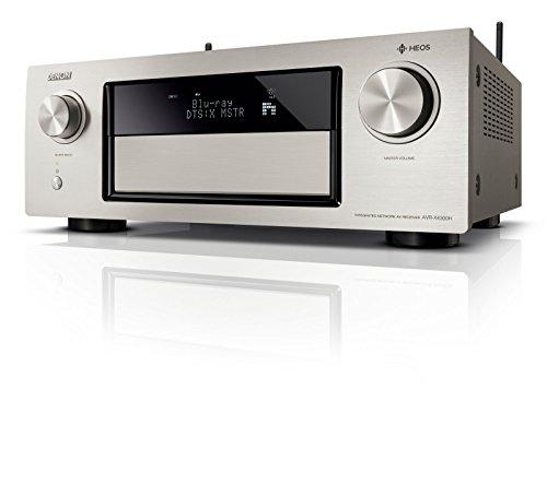 Denon AVRX4300HSPE2 Premium AV Surround-Receiver mit 9 Kanal-Endstufe und HEOS Integration premium-silber