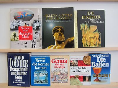 20 Bücher Bildbände Kunst Kultur Geschichte Weltgeschichte