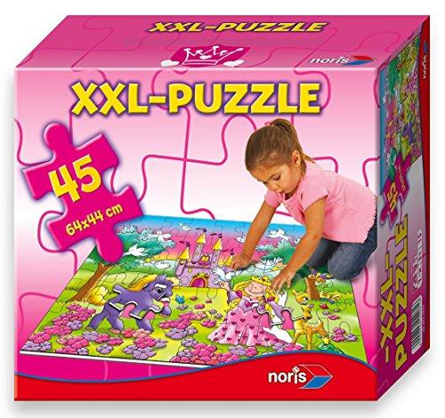 Noris Spiele 606034961 - Prinzessin Riesenpuzzle 45 Teile