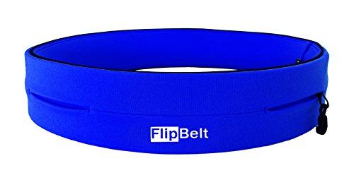FlipBelt(TM) (Laufgürtel Running Belt, Fitness Gürtel, Yoga, Outdoor Trekking Gürtel), Farbe:Royal-Blau;Größe:S