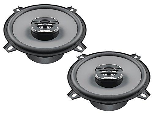 Hertz Uno Lautsprecher X130 13cm 320W inkl Einbauset für Ford Fiesta MK6 11/2001-08/2008 Türen vorne und hinten / Seitenwand