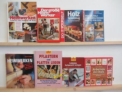 29 Bücher Heimwerken Renovieren Reparieren Innenausbau Fußboden verlegen