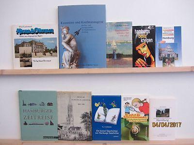 65 Bücher Hamburg Hamburgensien Reiseführer Hamburger Geschichte