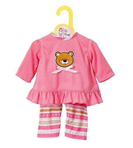 Zapf Creation 870075 - Dolly Moda Pyjama, 38-46 cm