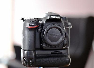Nikon D D7200 24.2MP Digitalkamera inkl. Batteriegriff HERSTELLERGARANTIE