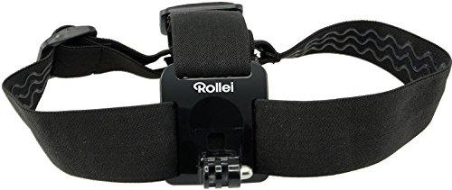 Rollei Kopfband - Head Strap für Rollei Actioncam 200 / 300 / 400 und 500 Serie und GoPro Hero Modelle - Schwarz