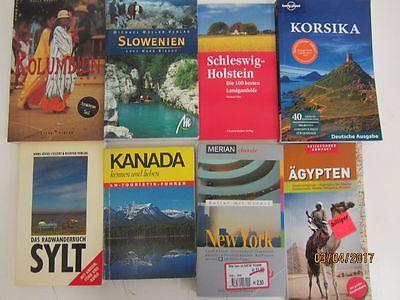 73 Bücher Reiseführer nationale und internationale Reiseführer