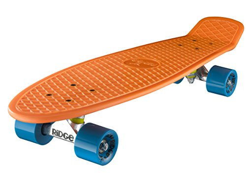 Ridge Skateboards Big Brother Nickel Mini Cruiser Board Skateboard, komplett, 69cm