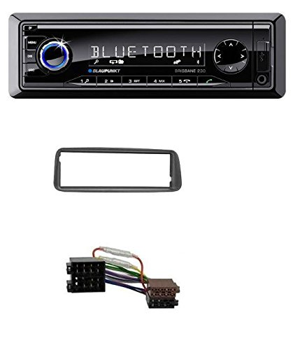 Blaupunkt Brisbane 230 MP3 USB SD Bluetooth AUX Autoradio für Peugeot 206 (ab 1998)